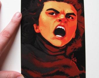 Star Wars Postcard Print - Kylo Ren