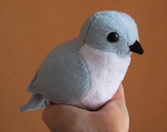 Mountain Bluebird Plush Doll / Ornament