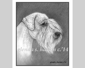 Sealyham Terrier Fine Art Note Cards - set of Eight - Free Shipping ***