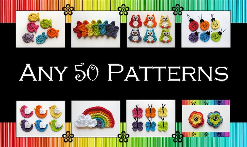 Your Choice of 50 Crochet Patterns PDF image 1