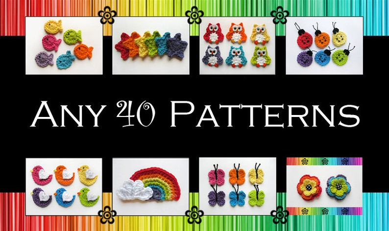Your Choice of 40 Crochet Patterns PDF image 0