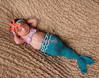 Mermaid Tail Baby Halloween Costume