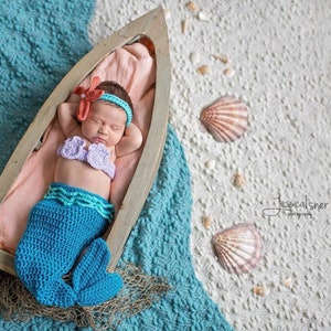 newborn turquoise mermaid costume 0 3 month mermaid halloween costume