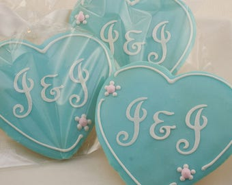 Wedding cookie favor   Etsy