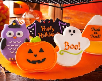 """Halloween Cookies - 3.25"""" Size  