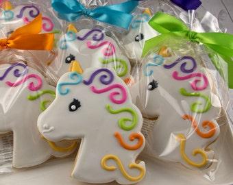 1 Doz+ Unicorn Cookies | Princess Cookies | Princess Party | Unicorn Decor | Fairy Cookies