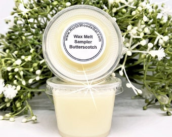 Butterscotch, Wax Melt Sampler, or Choose Scent, Strongly Scented, Hostess, Birthday, Christmas, Wedding, Holiday, Gifts, odor remover