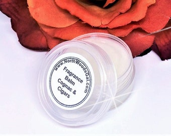 Cognac & Cigars or choose scent, Spray, Fragrance, Perfume, Solid Balm, Bath Beauty, Hightly Scented, Bridesmaids, Shower, Gift,