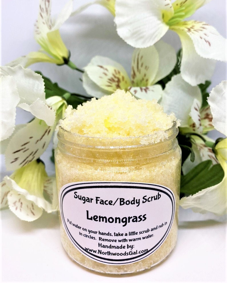Sugar Scrub Lemongrass or choose a scent Cleanser image 0