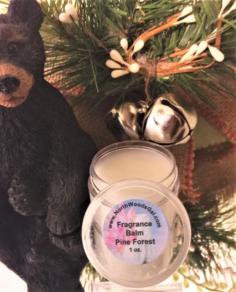 Pine Forest or choose another scent Solid Fragrance Balm image 0