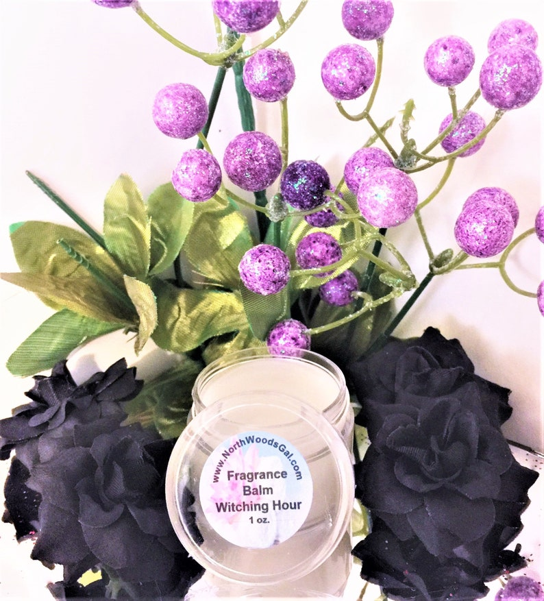 Witching Hour or choose a scent Solid Fragrance Balm image 0