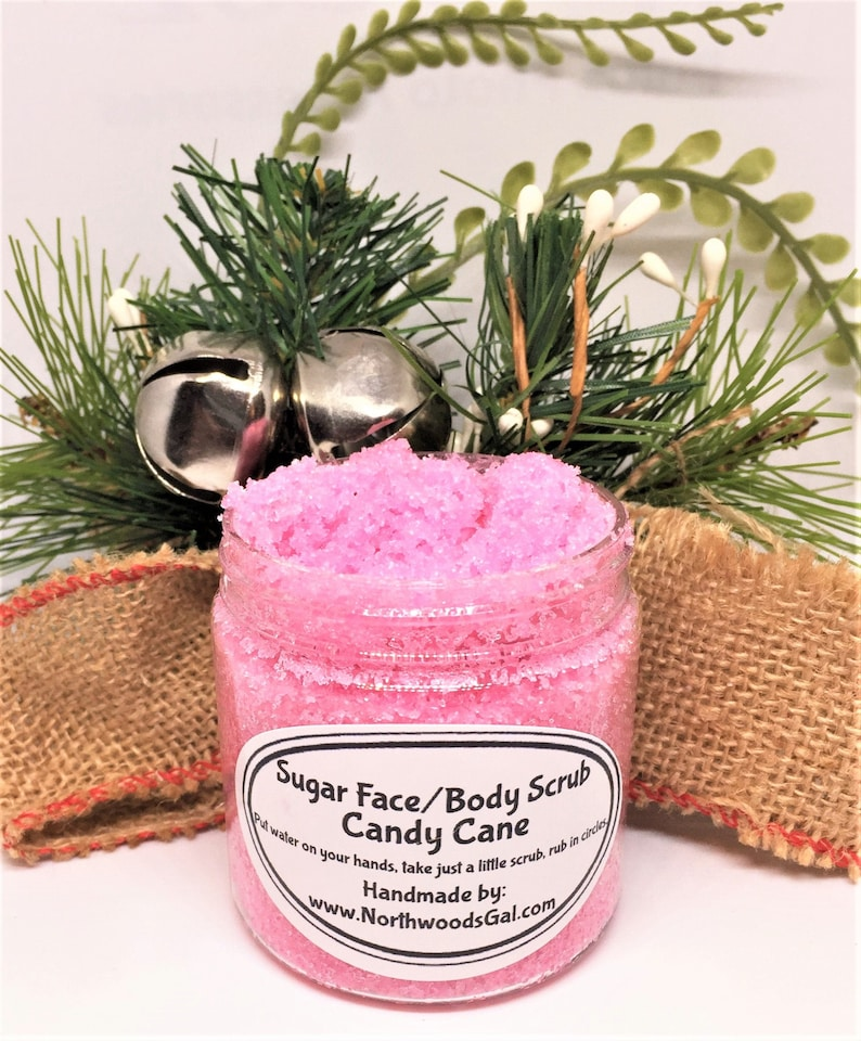 Candy Cane or choose a scent Sugar Scrub or Sugar Whipped image 0