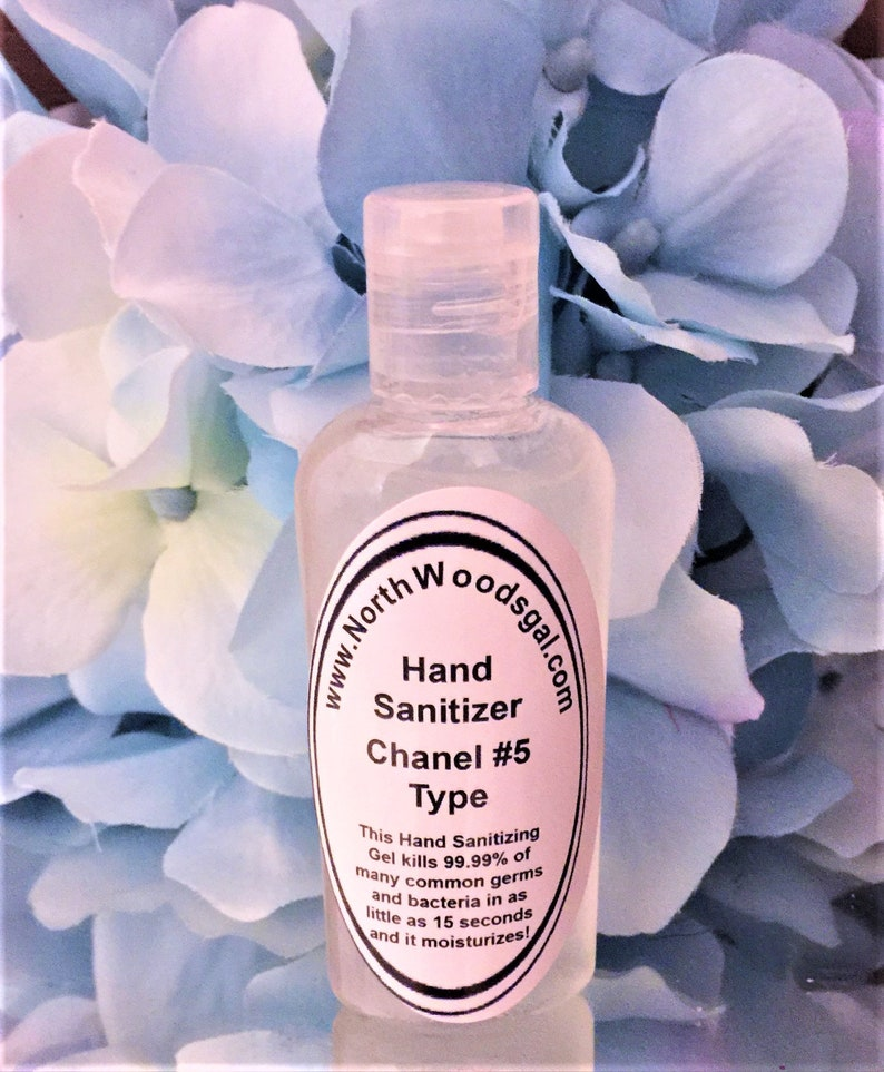 Chanel 5 Type or choose a scent Hand Sanitizer Moisturizer image 0