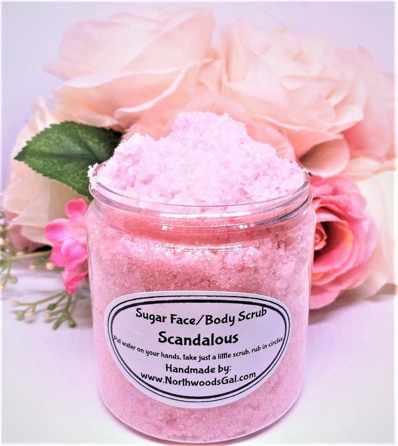 Scandalous or choose a scent Sugar Scrub or Sugar Whipped image 0
