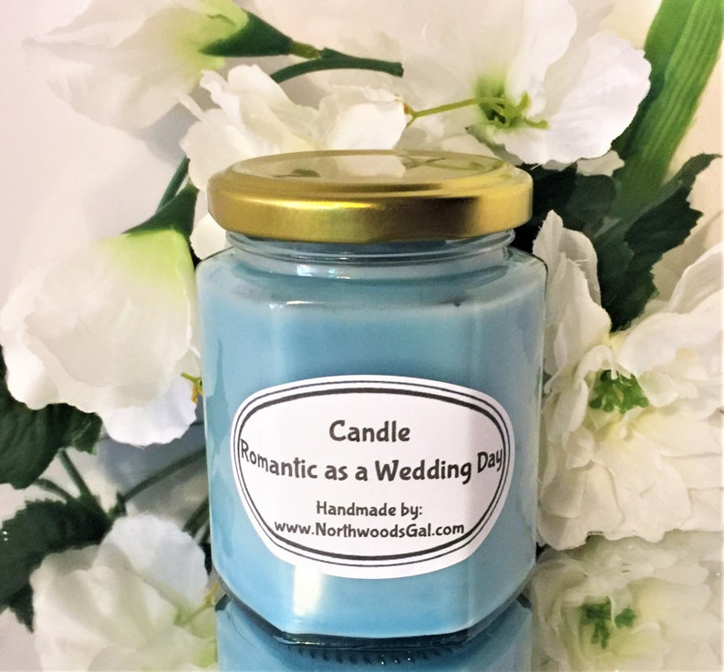 MADE Romantic as a Wedding Day Paraffin Candle  Scented image 0