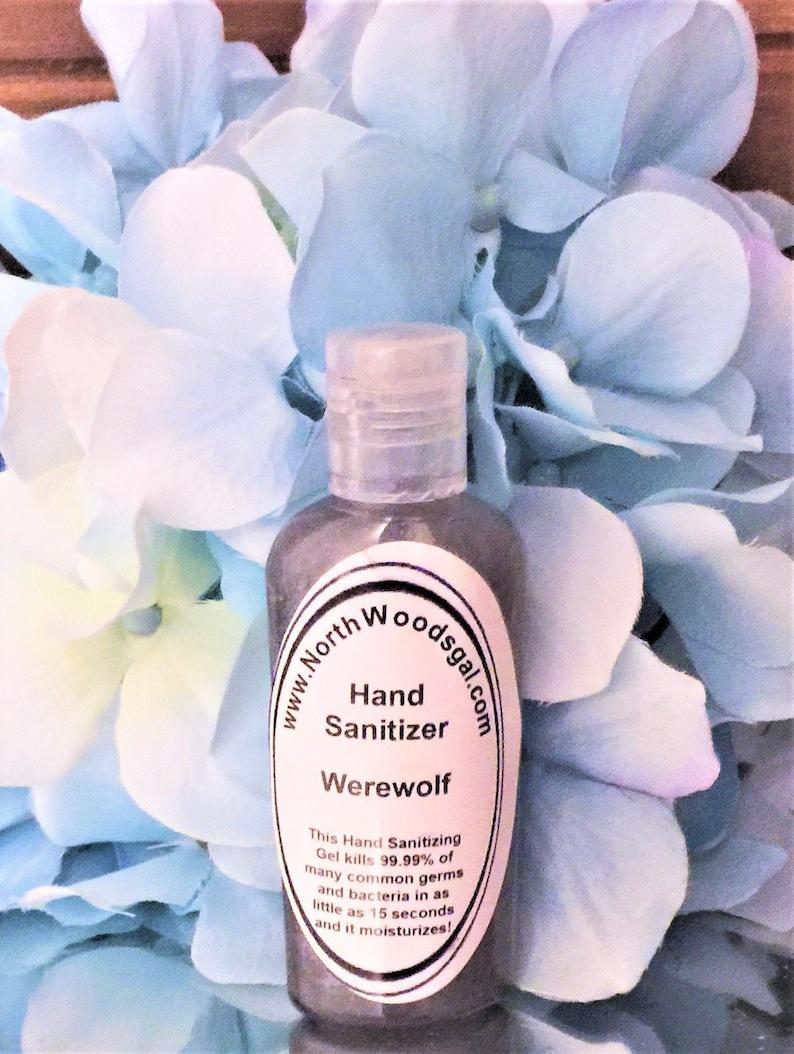 Werewolf or choose a scent Hand Sanitizer Moisturizer Gift image 0