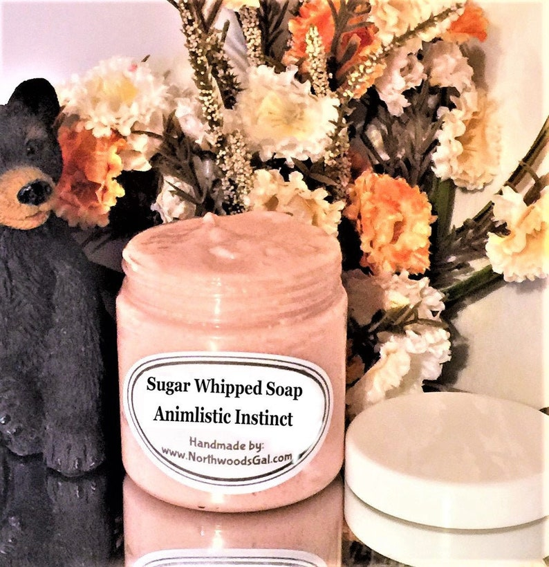 Animalistic Instinct or choose a scent Sugar Scrub or Sugar image 0