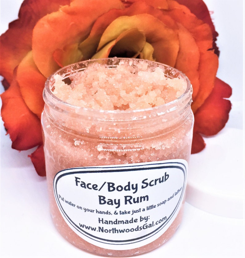 Bay Rum or choose a scent Sugar Scrub or Sugar Whipped Soap image 0