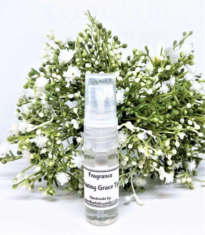 Amazing Grace Type or choose a scent Solid Fragrance Balm .34 oz Spray