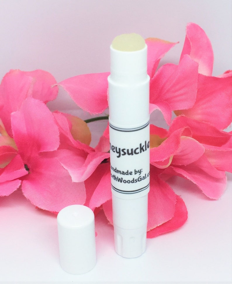 Honeysuckle or choose a scent Solid Fragrance Balm Perfume image 0