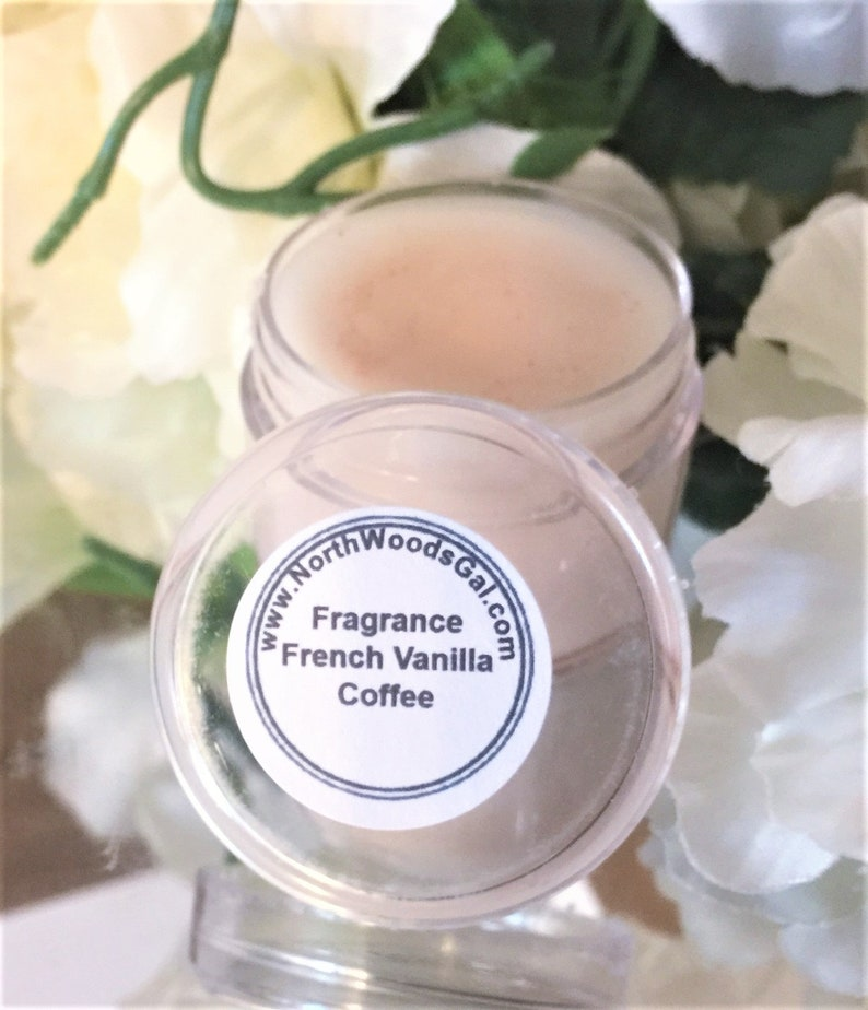 French Vanilla Coffee or choose a scent Solid Fragrance Balm image 0