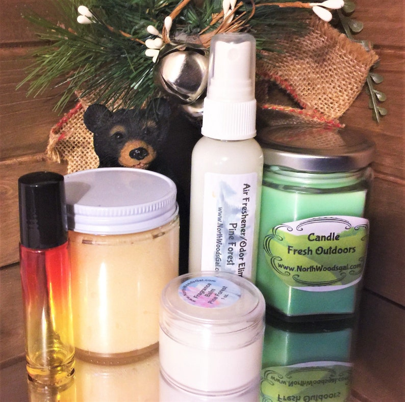 Choose Your Woodsy/Outdoors Scent  Gift Set image 0