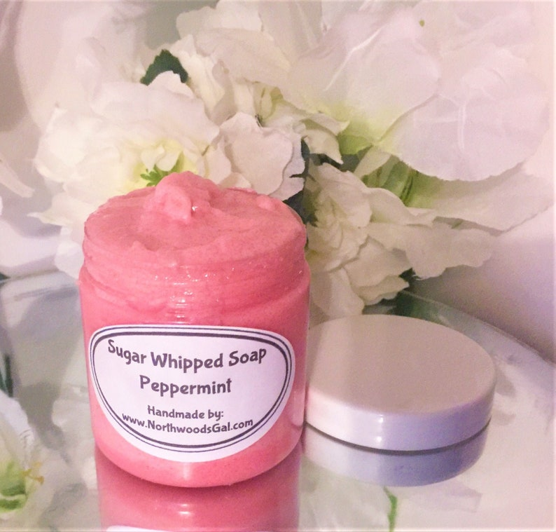 Peppermint or choose a scent Sugar Scrub or Sugar Whipped image 0