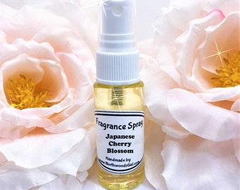 Japanese Cherry Blossom or choose scent, Spray, Fragrance, Perfume, Solid Balm, Bath Beauty, Hightly Scented, Bridesmaids, Shower, Gift