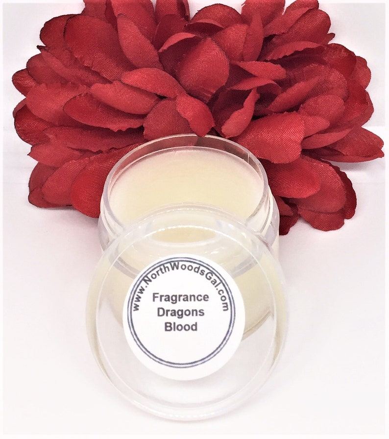 Dragons Blood or choose a scent Solid Fragrance Balm image 0