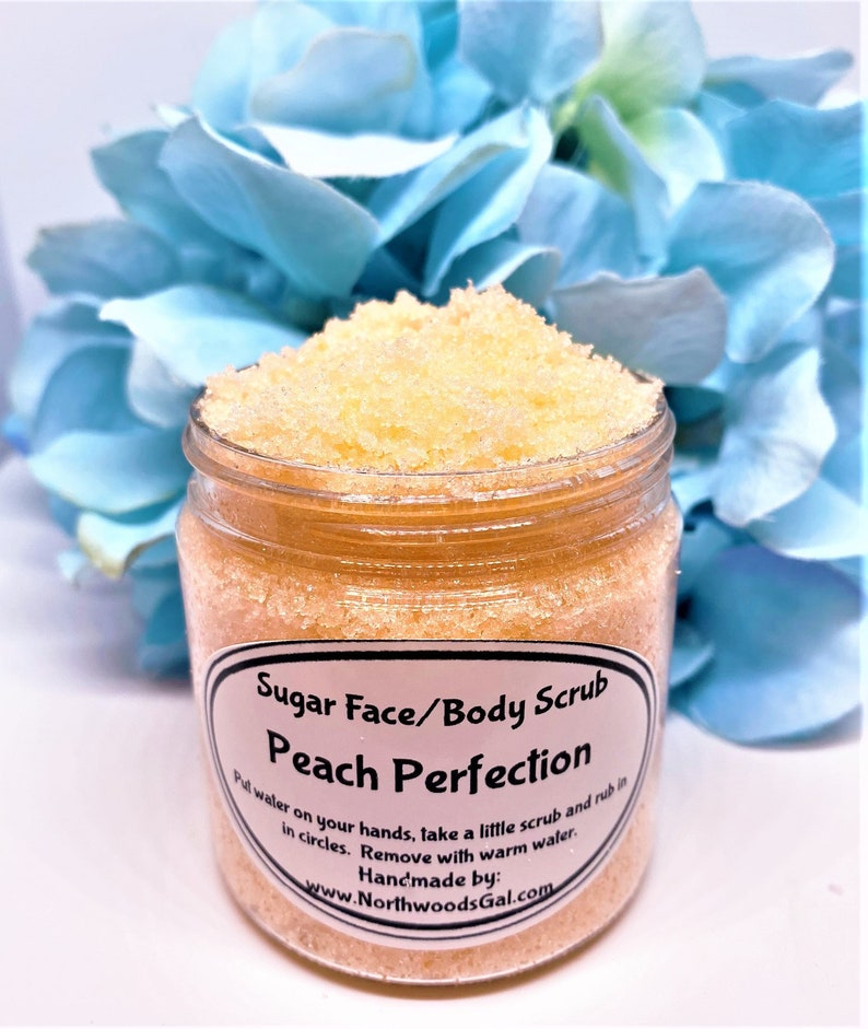 Sugar Scrub Peach Perfection or choose a scent Cleanser image 0