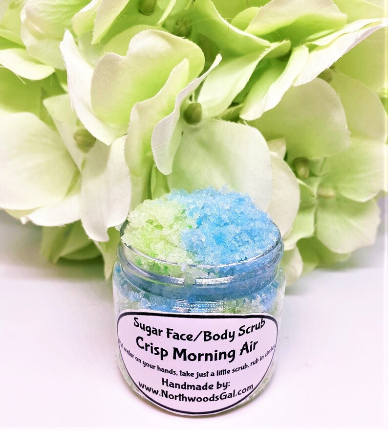 Sugar Scrub Crisp Morning Air or choose a scent Cleanser image 0