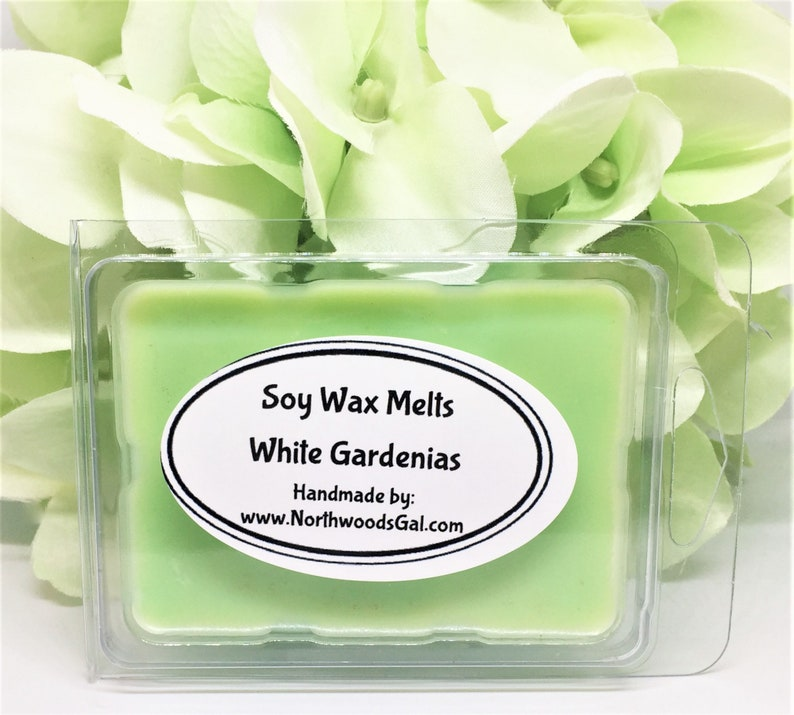 White Gardenias or Choose a Scent Soy Wax Melts Strongly image 0