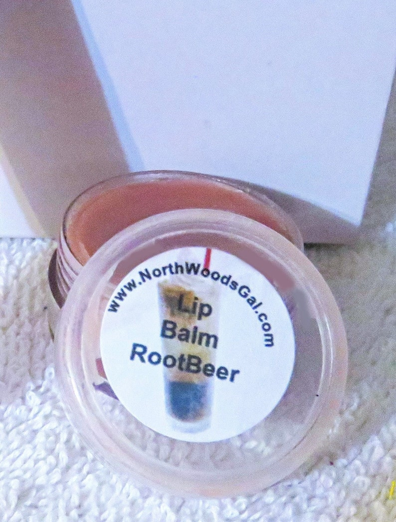 Rootbeer or choose a scent Lip Balm Lip Gloss Chapstick image 0
