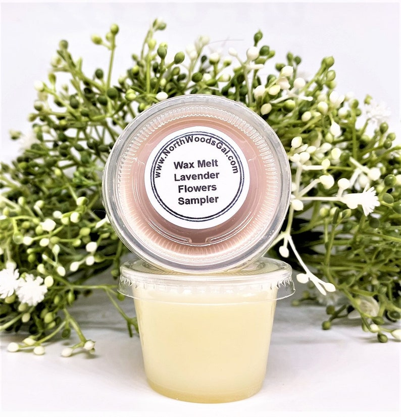 Wax Melts Lavender Flowers or Choose a Scent Strongly image 0