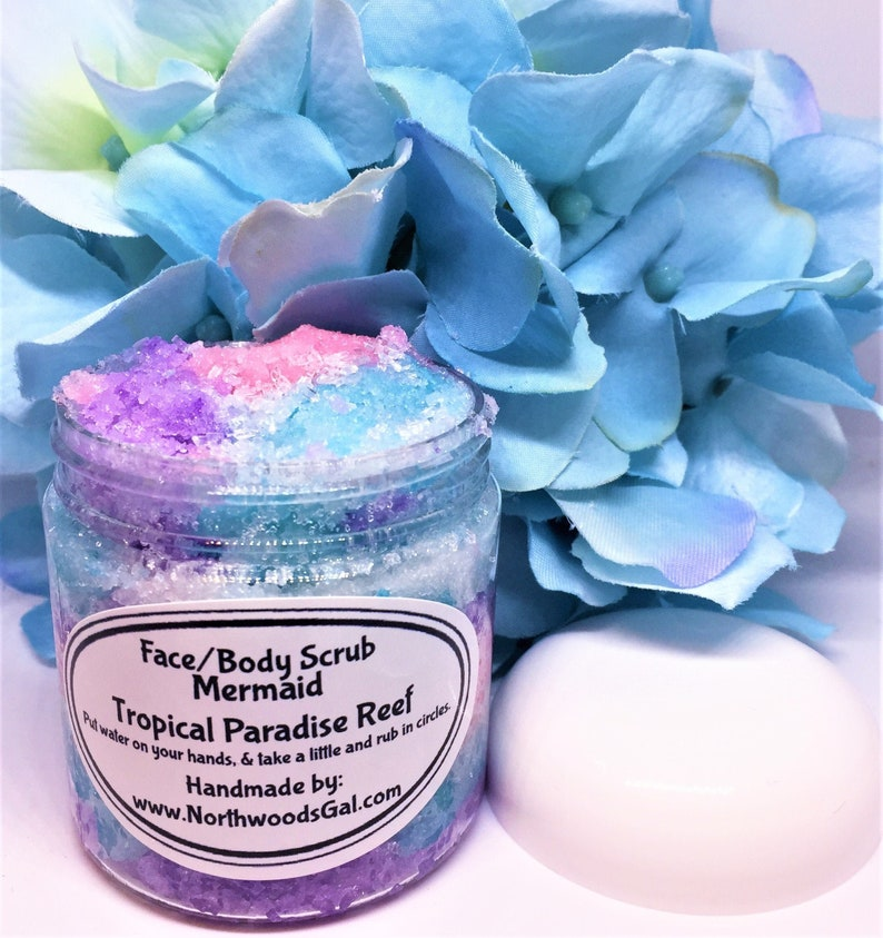 Mermaid Paradise Reef or choose a scent Sugar Scrub Sugar image 0