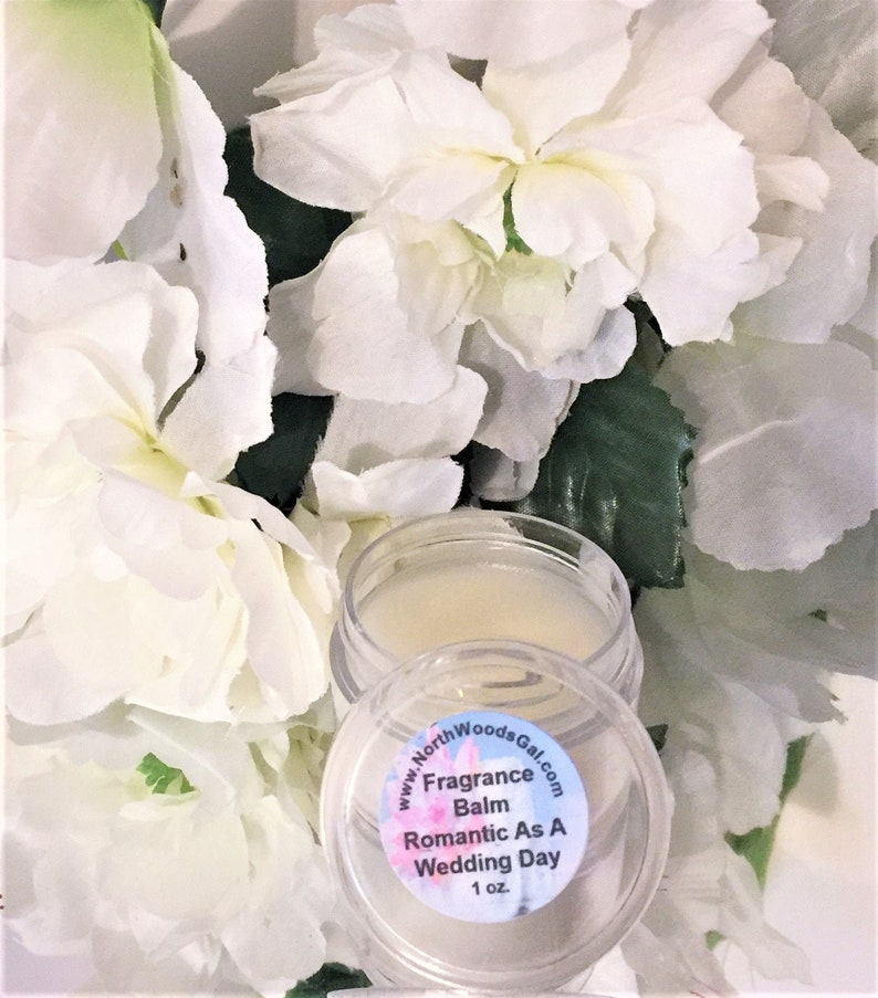 Romantic as a Wedding Day or choose a scent Solid Fragrance .34 oz Balm