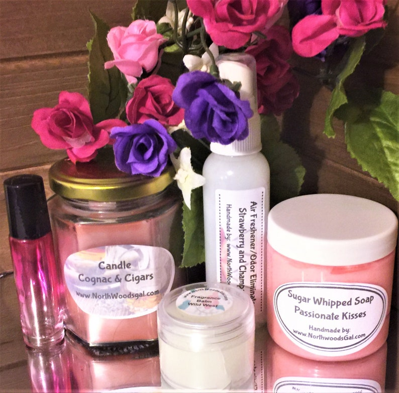 Choose Your Sexy/Romantic Scent  Gift Set Scrub image 0