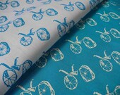 MY BIKE screenprinted fabric mix pack, 2 pieces