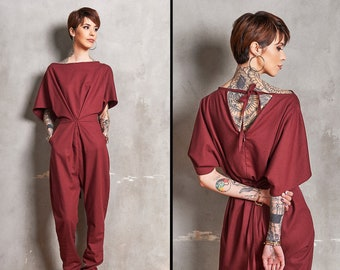 50b13e79ef1 Red jumpsuit