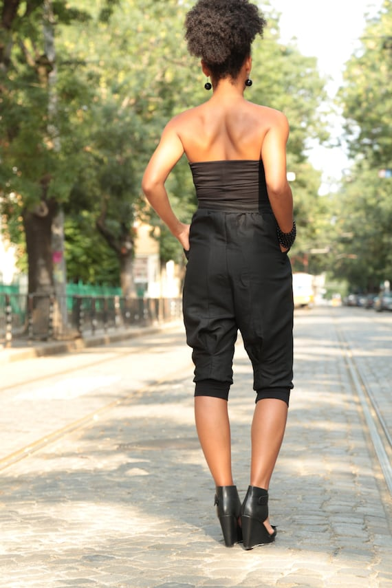 Summer Romper Black Fashion Jumpsuit Jumpsuit Jumpsuit Black Jumpsuit Short One Loose Piece Jumpsuit Party Jumpsuit Jumpsuit SqUHrS