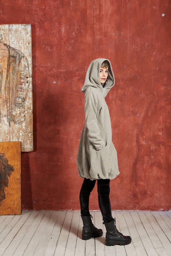 Womens Mantel, grauen Mantel, asymmetrische Mantel, grauer wolle Mantel, Wintermantel Frauen Plus Größe Mantel, Mantel, grauen Wintermantel,