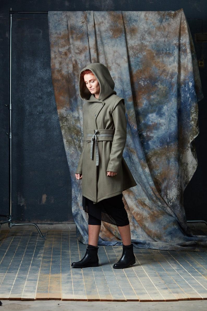 Groene Lange Winterjas.Winterjas Voor Vrouwen Lange Winterjas Capuchon Jas Vrouwen Etsy