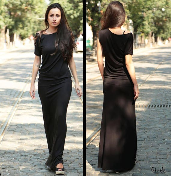 Sexy maxi dresses with sleeves