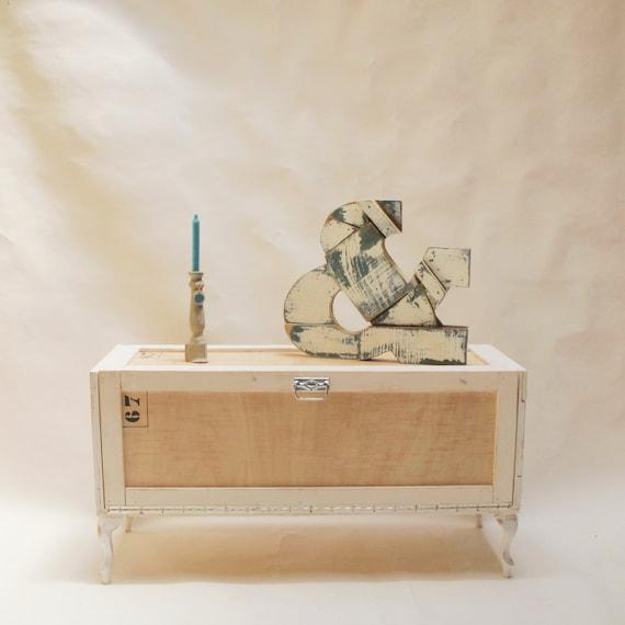Mueble para tv de madera estilo industrial mueble tv etsy for Mueble de pared industrial