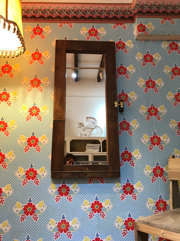 An der Wand montiert Tisch Spiegel Tisch Klapptisch jeden Tag | Etsy