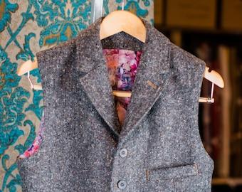 Donegal Tweed Vests---Retro 1920s Styles