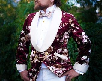 Famous Velvet Tuxedo Jackets---Custom Made--Decadence'89