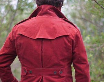 Corduroy Safari and Norfolk Jackets