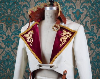The Rococo Tailcoat with Detachable Hood