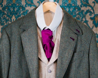 Retro Tweed 3pc Suits-----Handmade for You